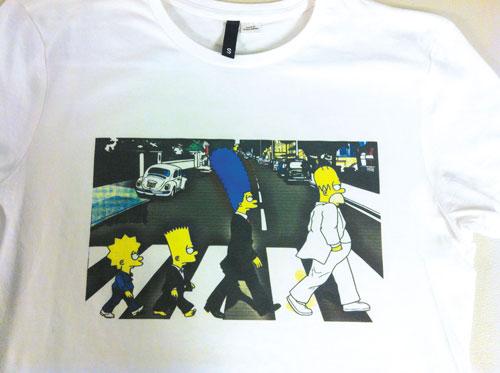 "Camiseta ""MOD. SIMPSONS"""